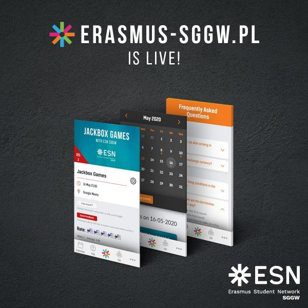 Erasmus-sggw.pl is live!